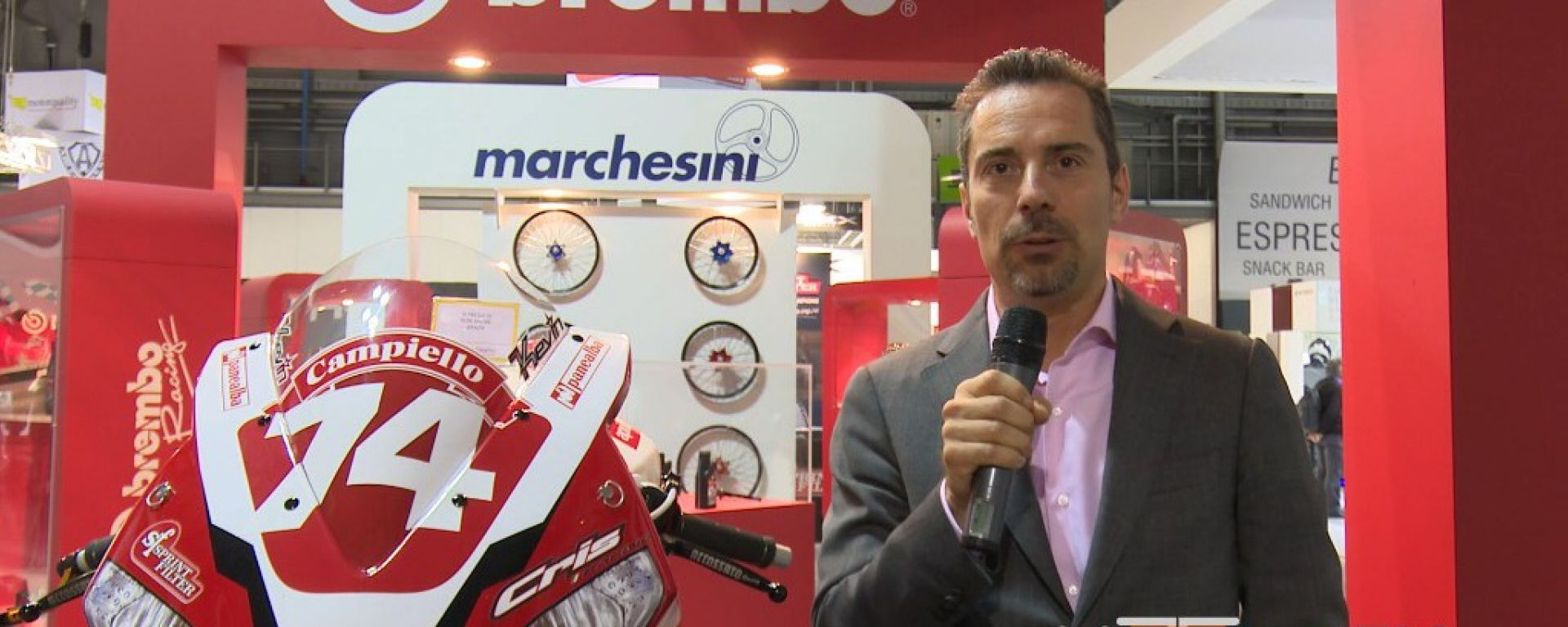 Eicma 2014, lo stand Motorquality
