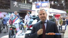 Eicma 2014, lo stand Peugeot Scooters - Immagine: 1