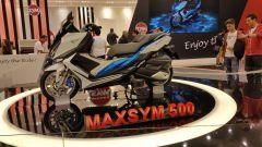 Eicma 2015: il Maxsym 500 e la café racer di Sym - Immagine: 3
