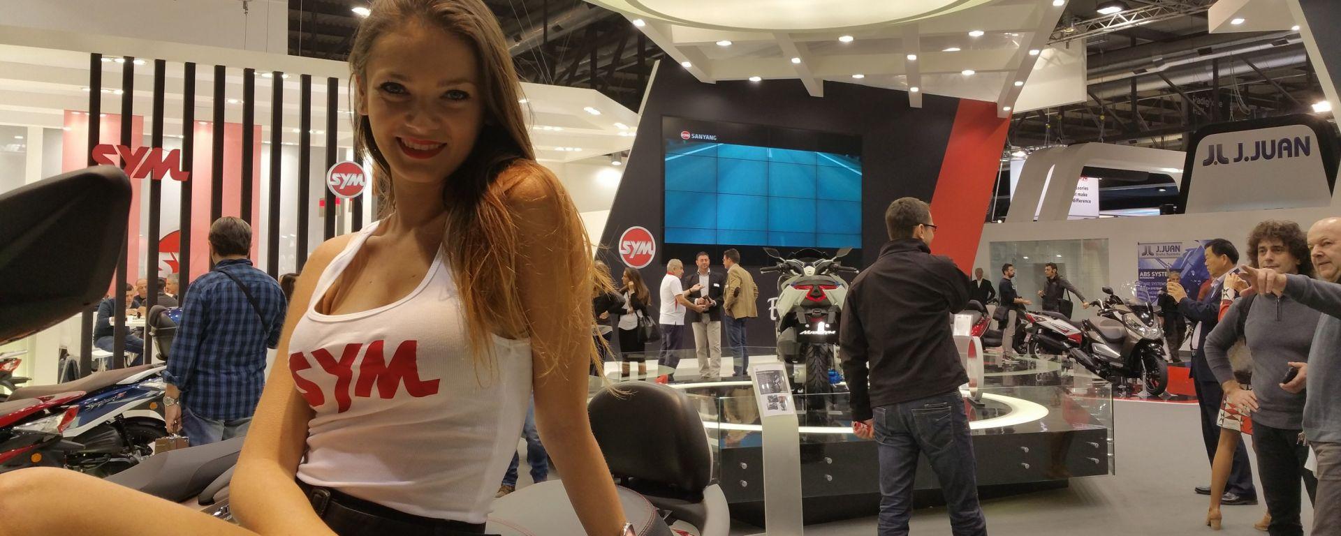 Eicma 2015: il Maxsym 500 e la café racer di Sym