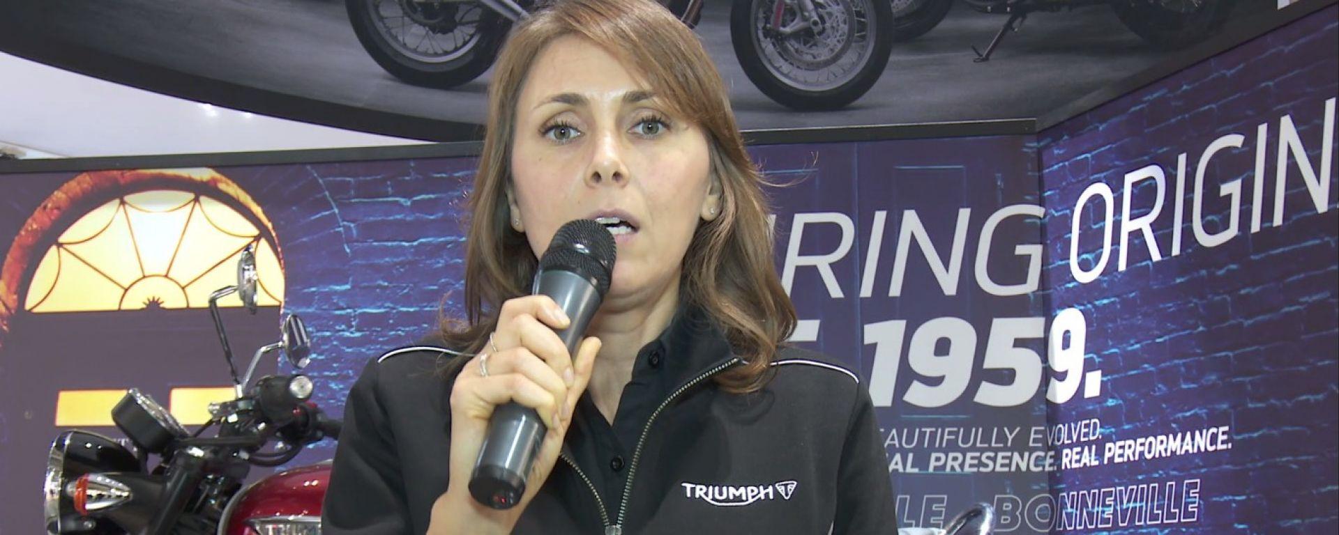 Eicma 2015 - notizie dalle Case: Triumph