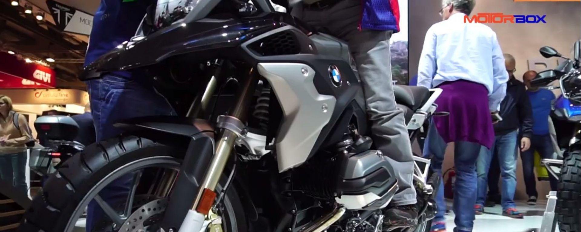 Eicma 2016: BMW R1200 GS
