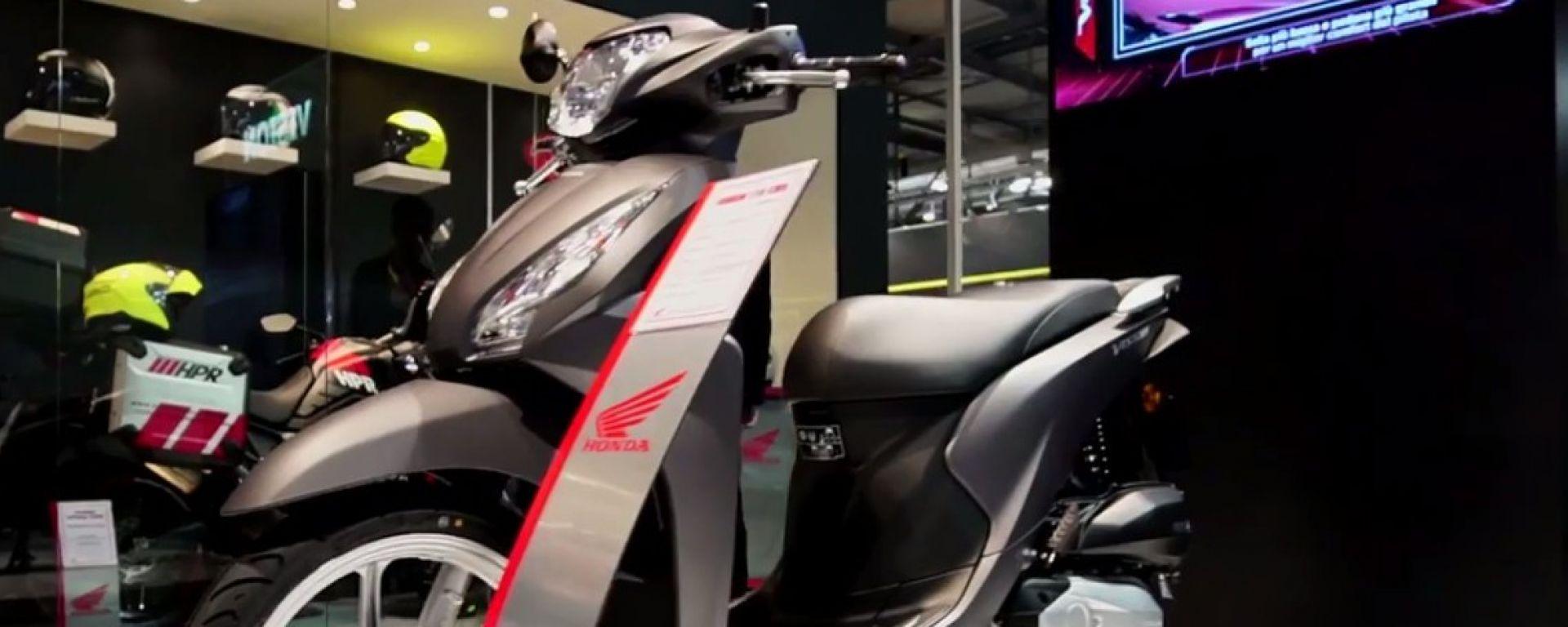 Eicma 2016: Honda Vision 110