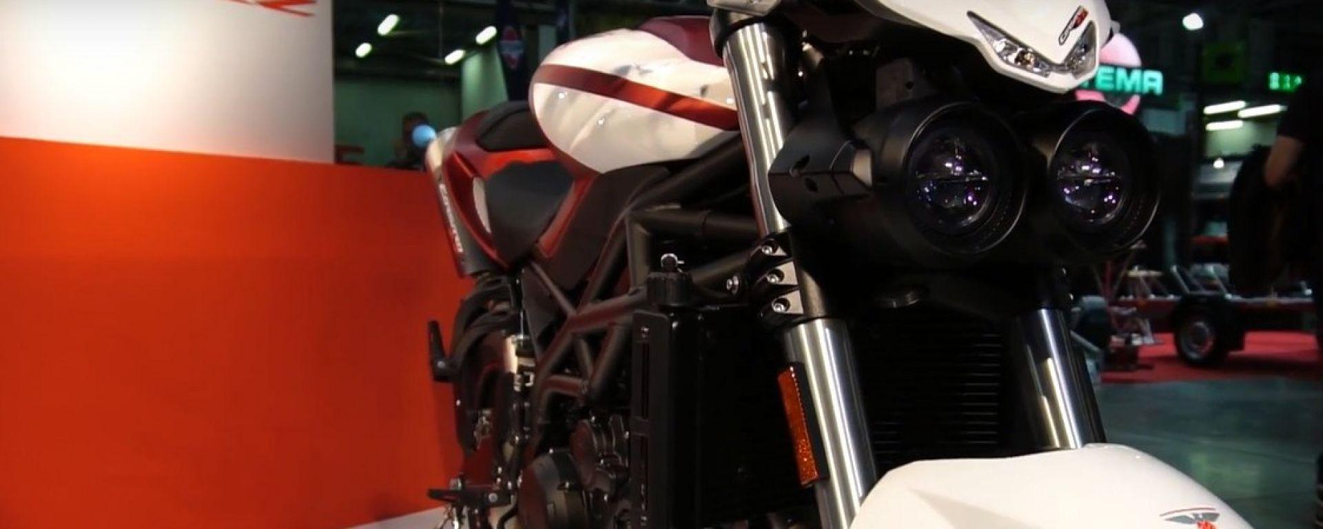 Eicma 2016: Moto Morini Corsaro 1200 ZZ