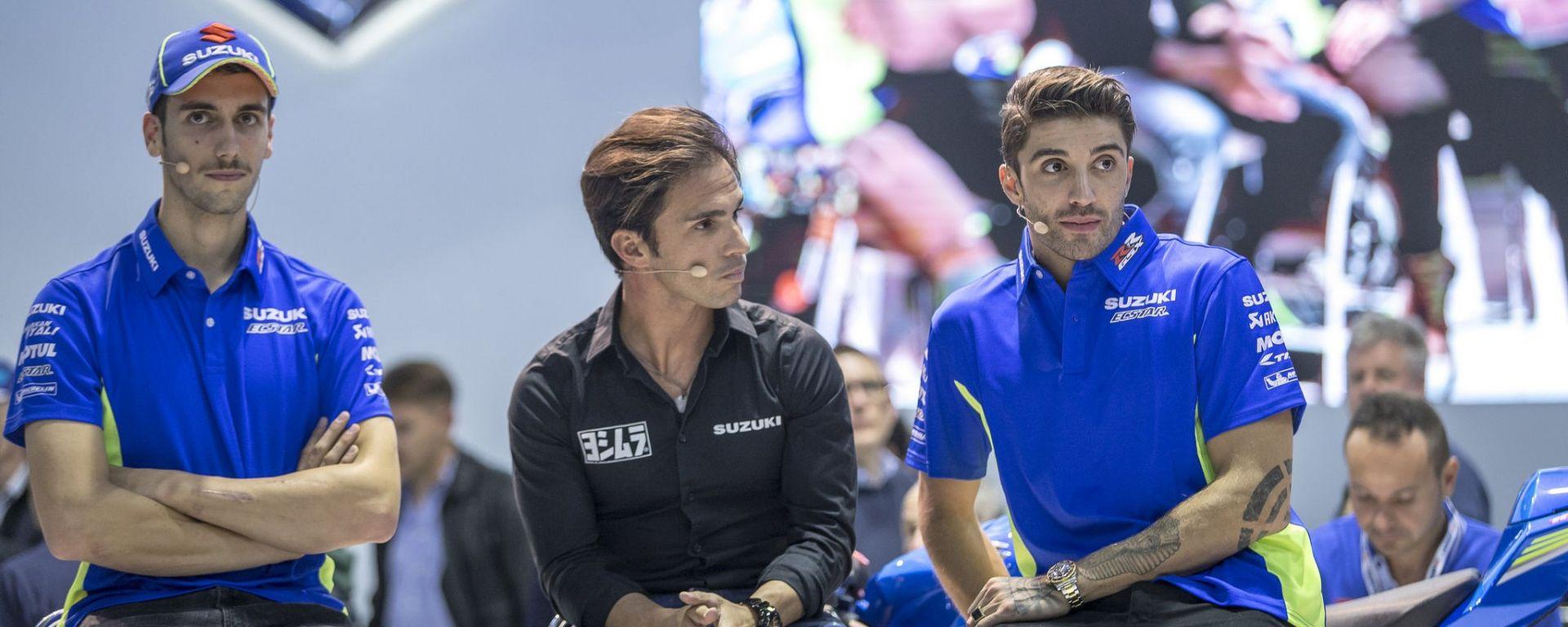 Suzuki: a tu per tu con Andrea Iannone, Alex Rins e Toni Elias!