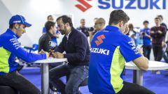 Suzuki: a tu per tu con Andrea Iannone, Alex Rins e Toni Elias! - Immagine: 5