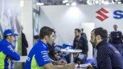 Suzuki: a tu per tu con Andrea Iannone, Alex Rins e Toni Elias! - Immagine: 6