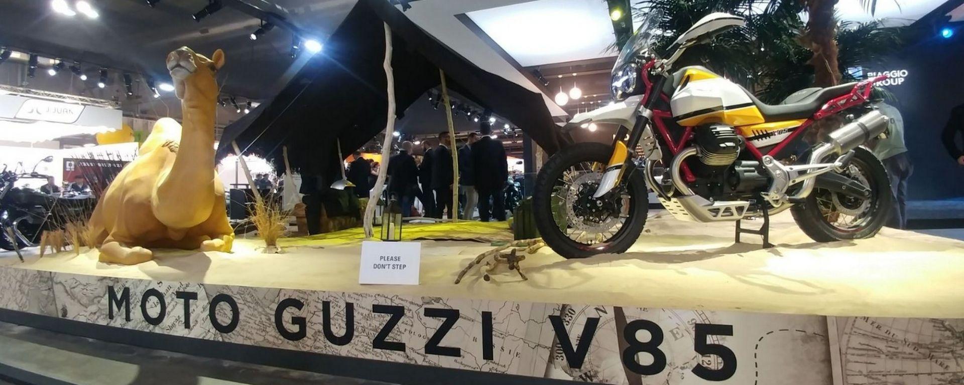 EICMA 2017: le novità allo stand Moto Guzzi