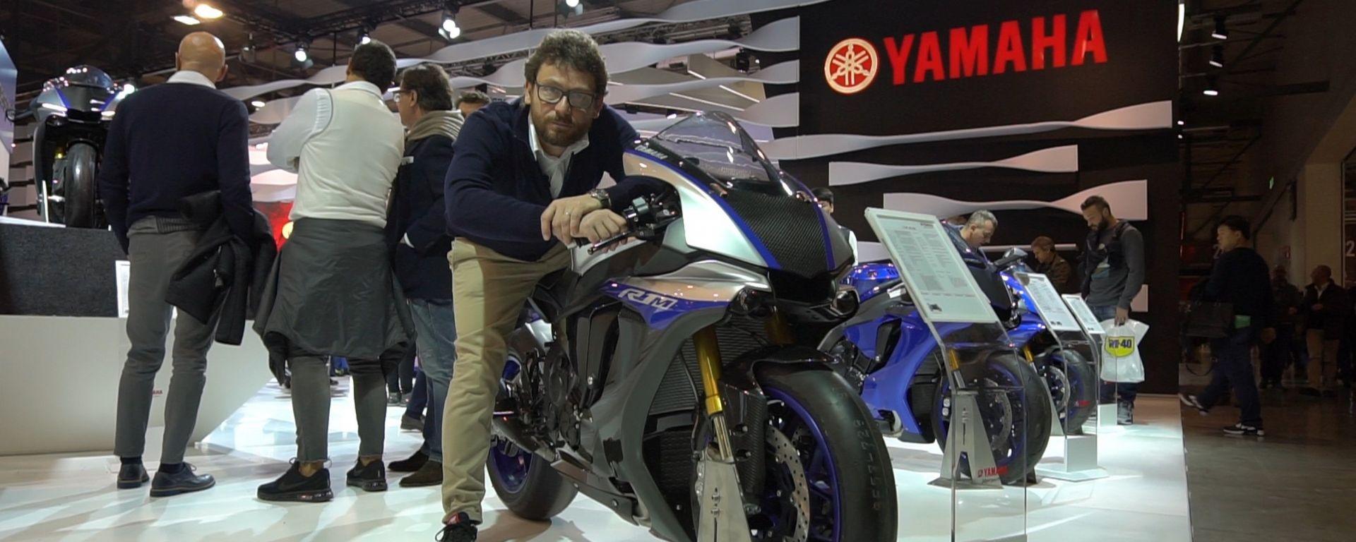 Eicma 2017: nuova elettronica per la Yamaha YZF-R1M MY 2018 [VIDEO]