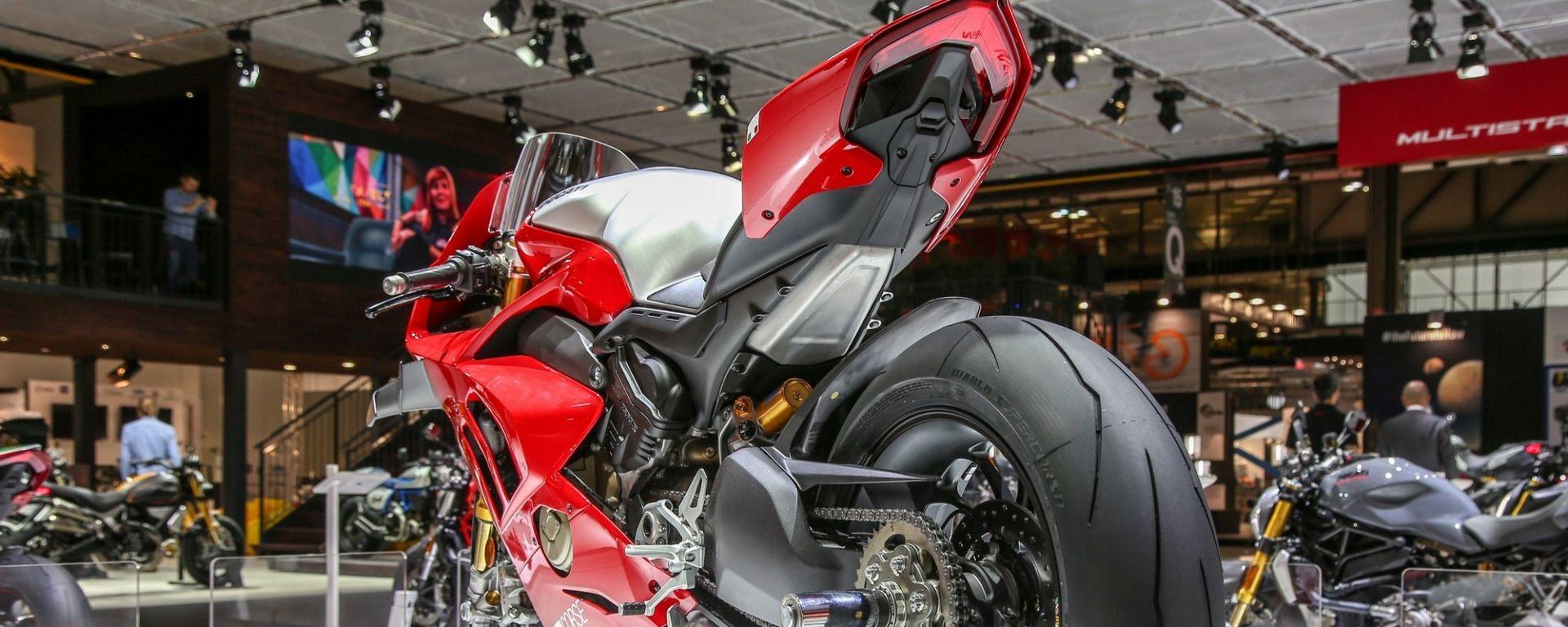 Ducati: alla Panigale V4R spuntano le ali e cavalli in più [VIDEO]