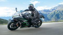 Kawasaki Ninja H2 SX SE+, sospensioni elettroniche [VIDEO] - Immagine: 12