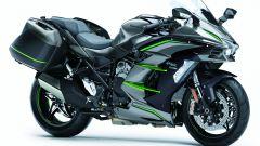 Kawasaki Ninja H2 SX SE+, sospensioni elettroniche [VIDEO] - Immagine: 19