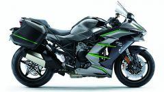 Kawasaki Ninja H2 SX SE+, sospensioni elettroniche [VIDEO] - Immagine: 20