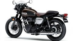 Kawasaki W800 Cafe e Street 2019: due special in salsa verde - Immagine: 4