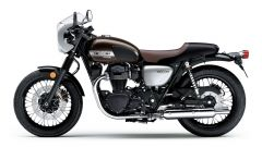 Kawasaki W800 Cafe e Street 2019: due special in salsa verde - Immagine: 14