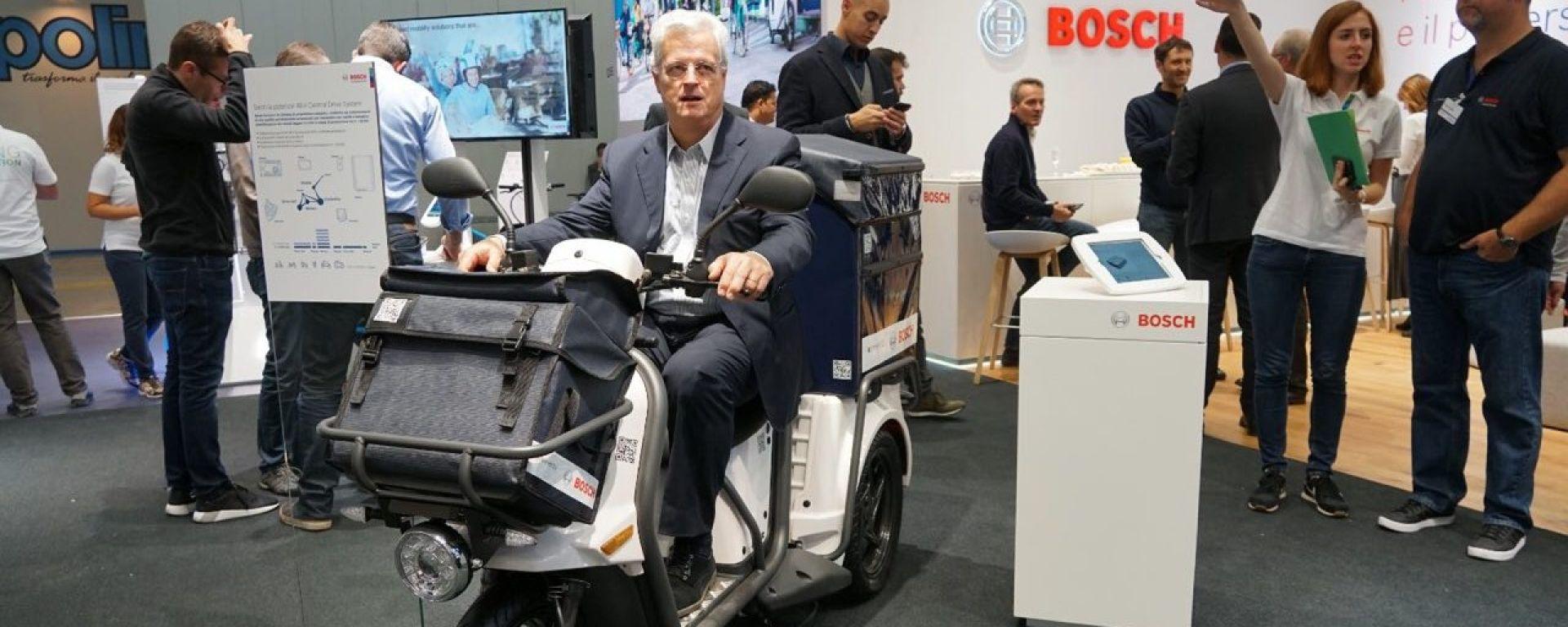 Bosch, Eicma 2018: Quando la guida autonoma sulle moto? [VIDEO]