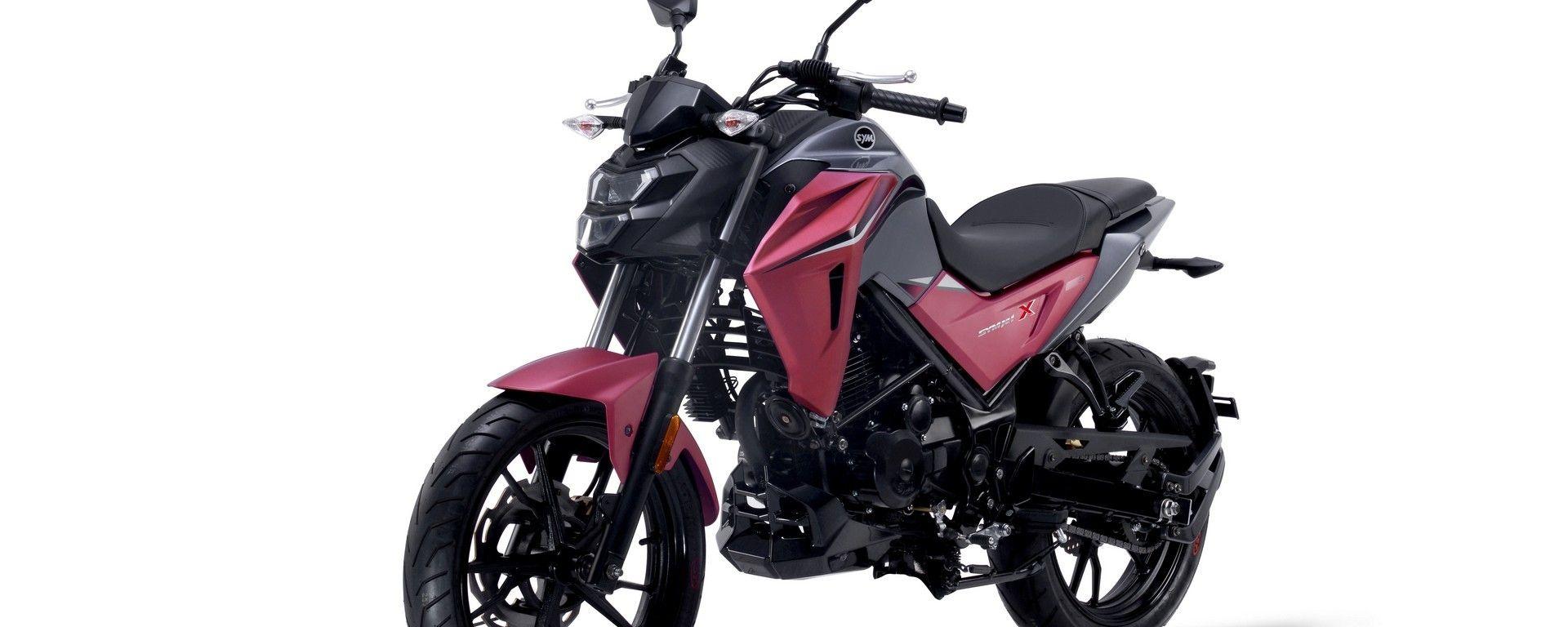 Eicma 2018: Sym lancia la naked 125 cc NH X [VIDEO]