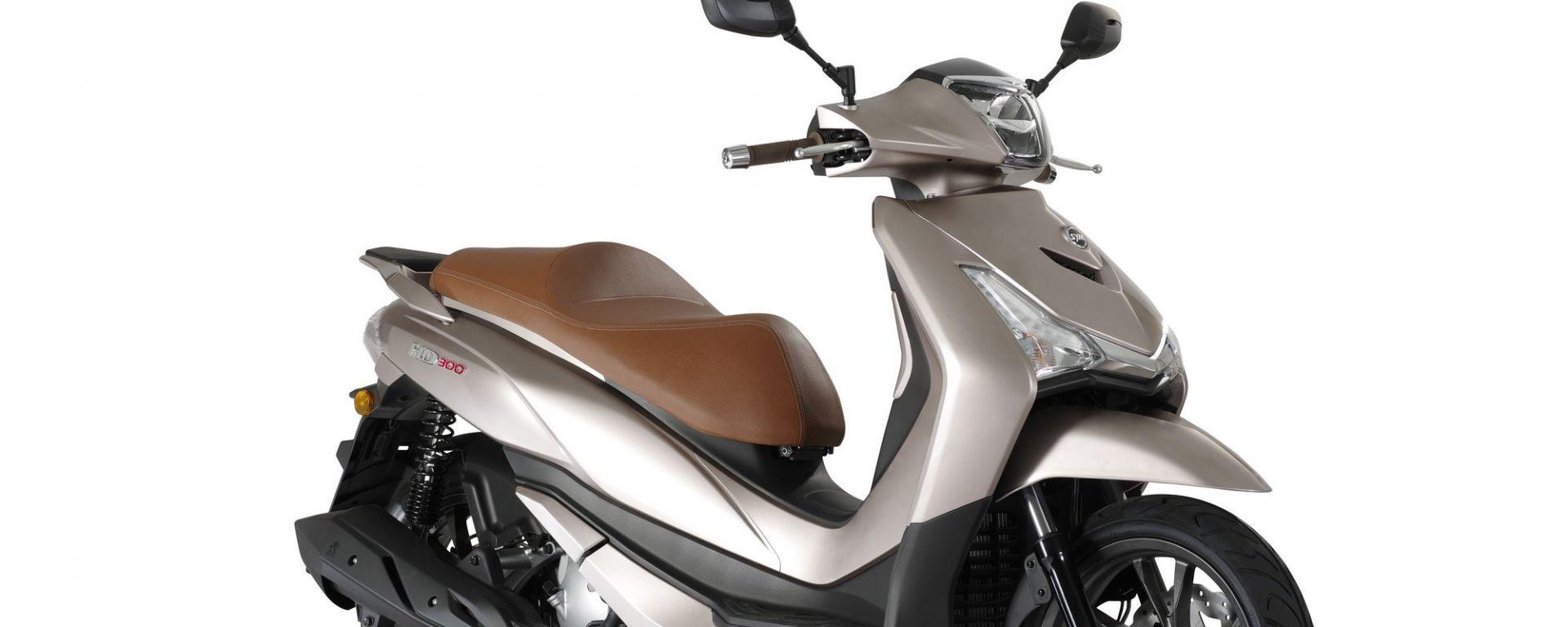 Nuovo Sym HD 300: il ruote alte a Eicma 2018  [VIDEO]