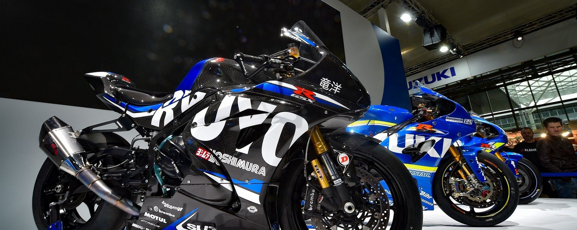 Suzuki Ryuyo: a Eicma 2018 consegnata la prima delle 20 moto