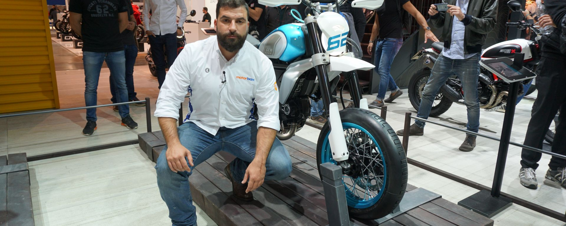Scrambler Ducati Motard SCR in video da Eicma 2019