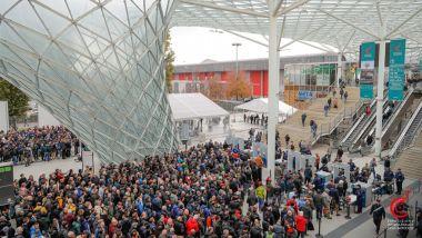 EICMA 2019: il pubblico all'ingresso