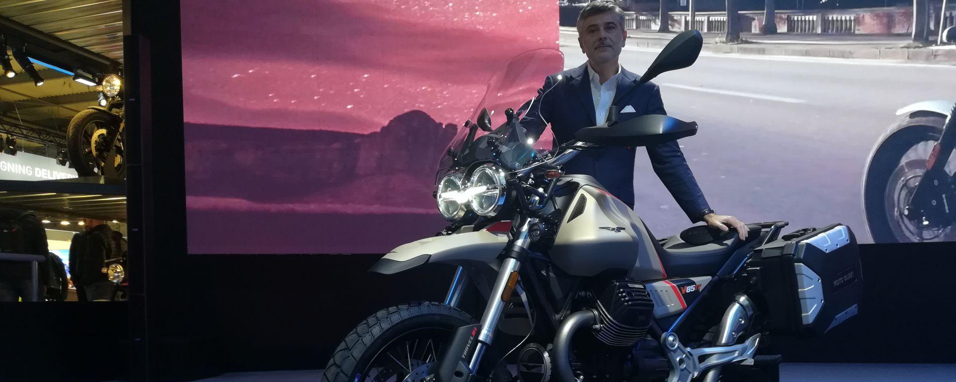 Eicma 2019, le novità allo stand Moto Guzzi