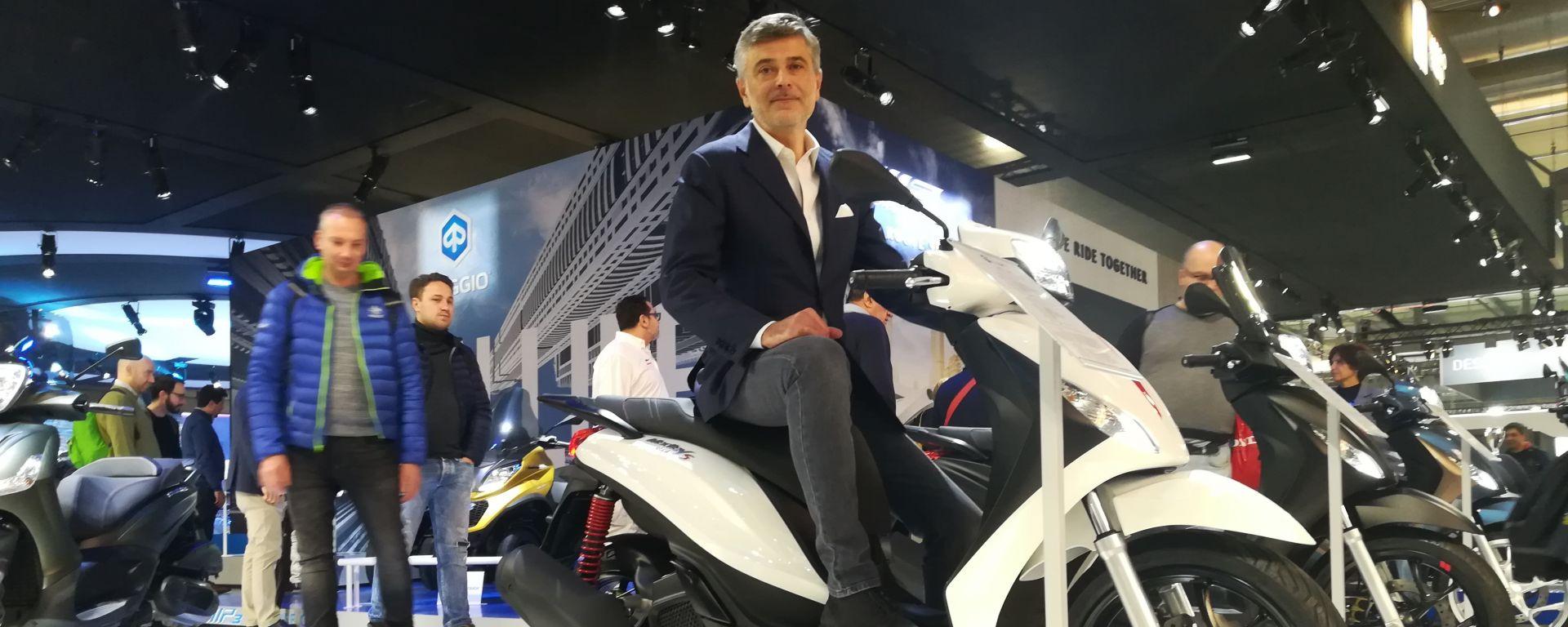 Eicma 2019, le novità allo stand Piaggio