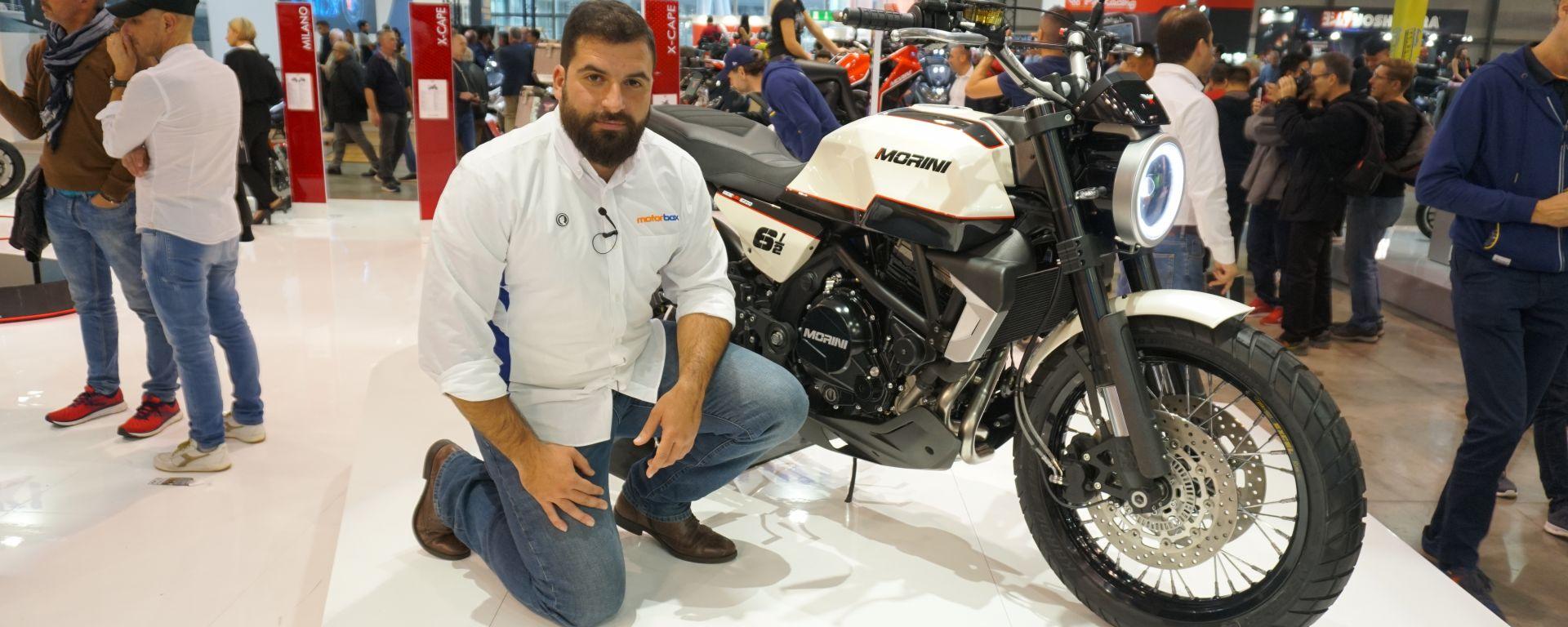 Moto Morini Seiemmezzo: la scrambler da 650 cc a EICMA 2019