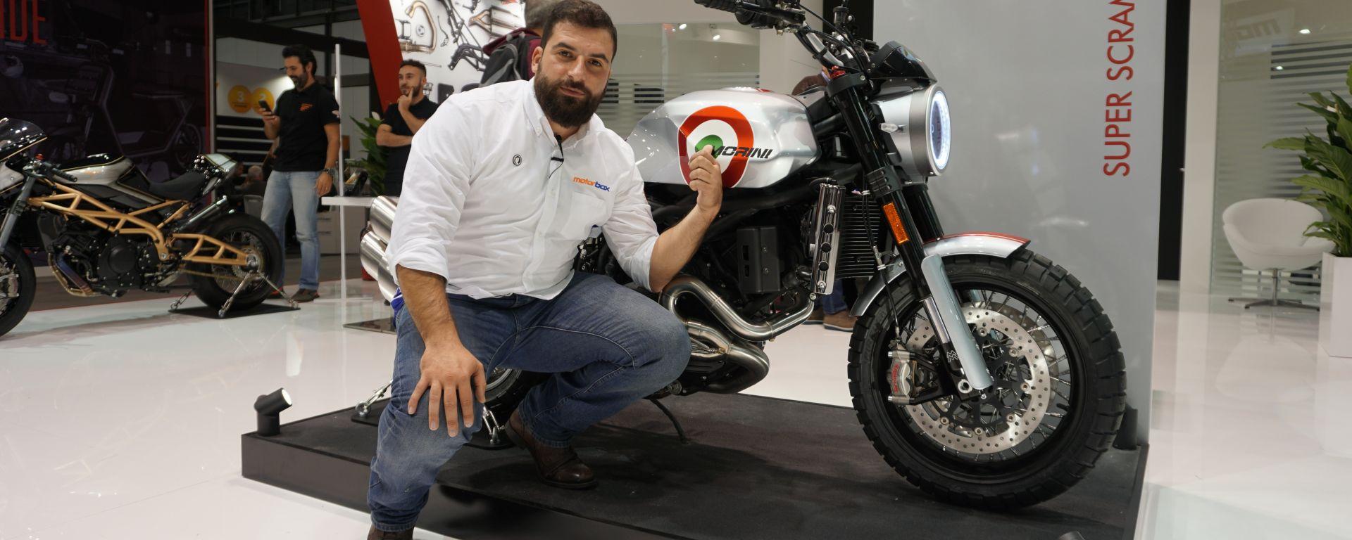EICMA 2019: Moto Morini presenta la Super Scrambler. Video