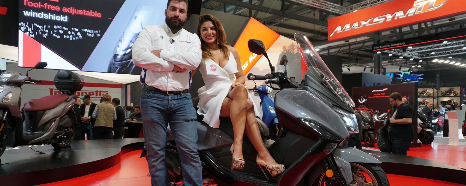 Come cambia il Sym Maxsym 2020 presentato a EICMA 2019. Video