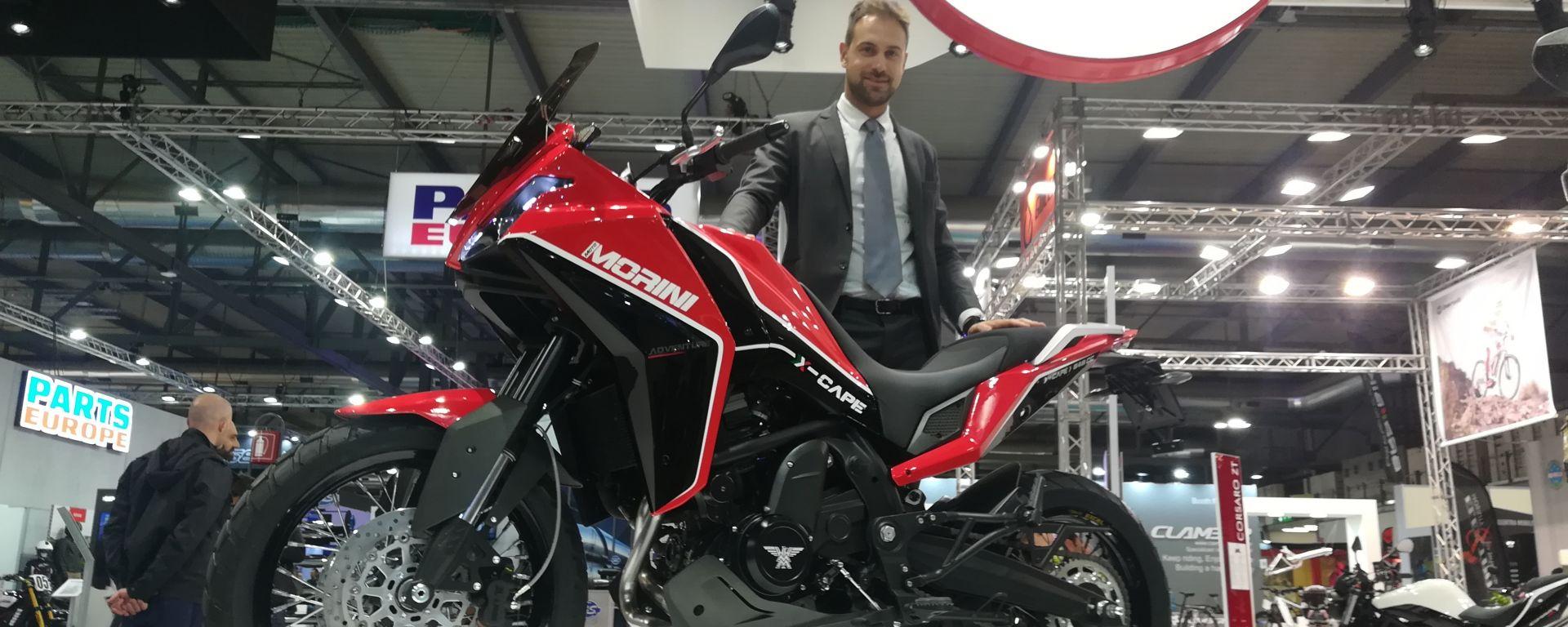 Eicma 2019: tante le novità allo stand Moto Morini