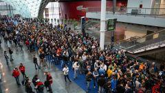 Eicma: folla di appassionati in coda per l'ingresso