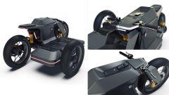 El Solitario concept sidecar BMW: i dettagli