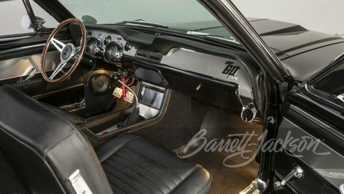 Eleanor, la replica dell'auto del film: gli interni