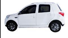 Elettra SUV, quadriciclo di Green Vehicles: visuale laterale