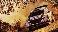 Elfyn Evans, il leader del Rally Argentina - WRC 2017 Rally Argentina
