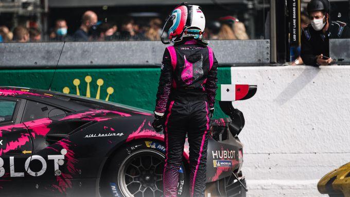 ELMS 2020, Manuela Gostner (Ferrari 488 Iron Dames)