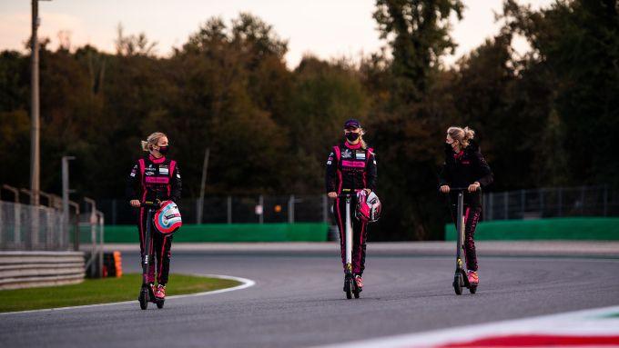 ELMS 2020, Track walk a Monza