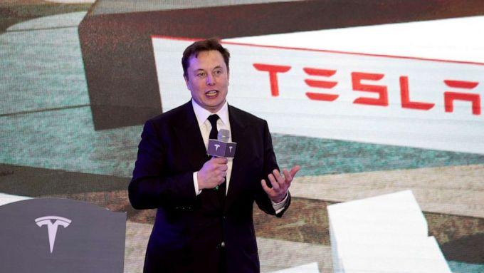 Elon Musk al Battery Day Tesla