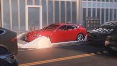 Elon Musk entra nel tunnel di Boring Company con una Tesla Model S - Immagine: 2