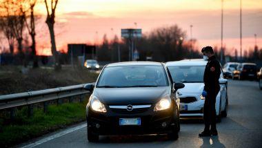 Emergenza virus, controlli in atto su strade e autostrade