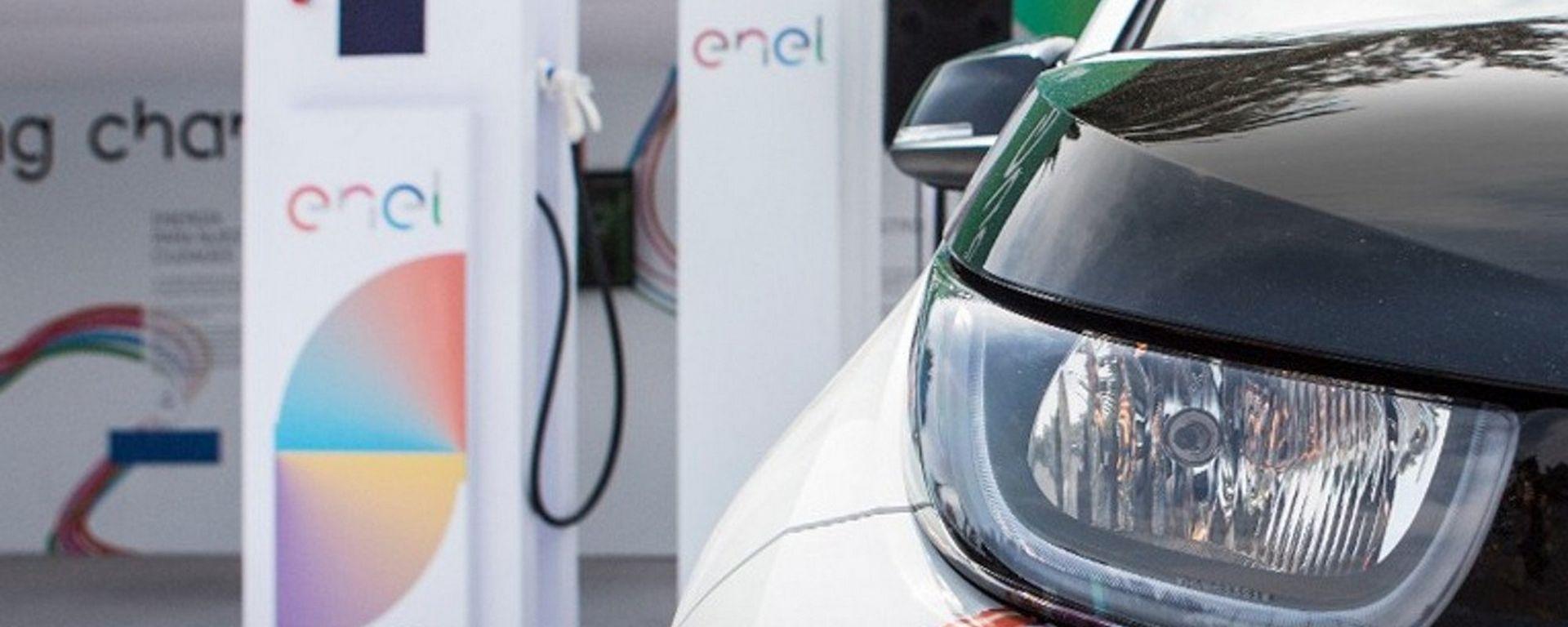Enel, 14 nuove stazioni di ricarica fast in Italia, Francia e Spagna