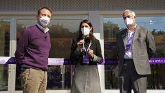 Enel X Store a Roma: Francesco Venturini, Virginia Raggi e Massimo Nordio