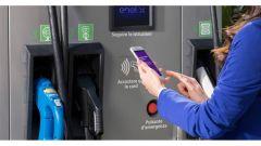 Enel X: un punto di ricarica per vetture elettrificate