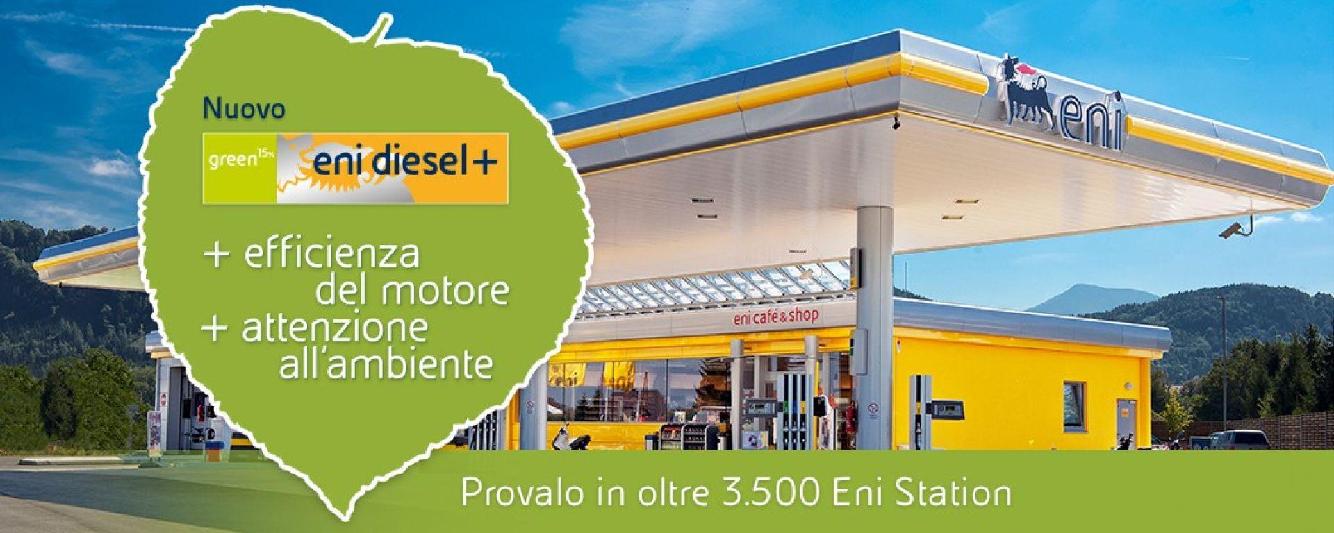 Eni Diesel +, il nuovo diesel con componente rinnovabile