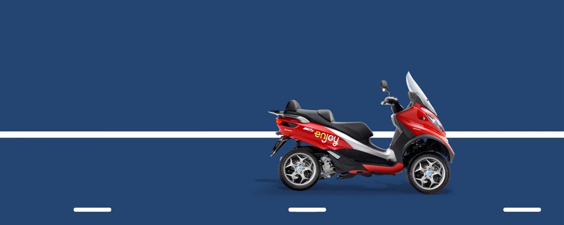 Enjoy: dal 1° luglio addio allo scooter sharing