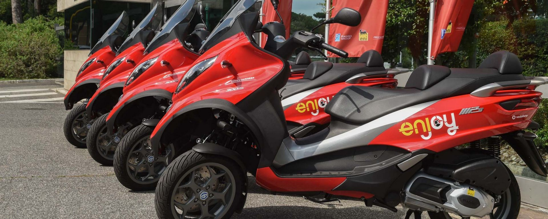 Eni Enjoy: lo scooter sharing arriva a Roma