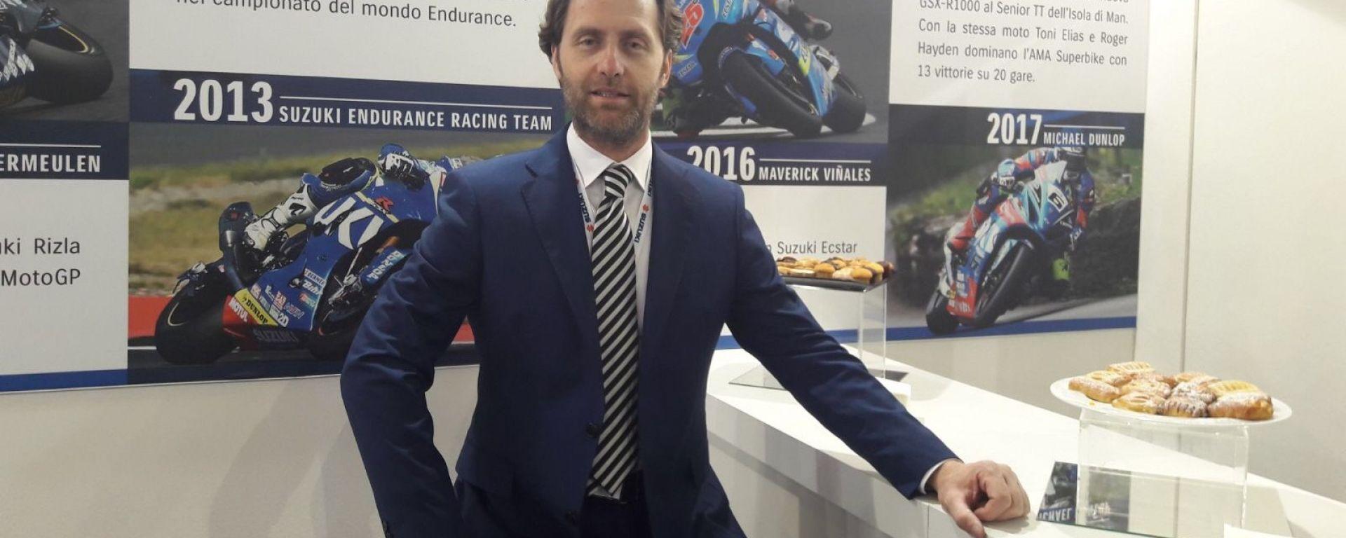 Enrico Bessolo, Direttore Commerciale Suzuki Italia