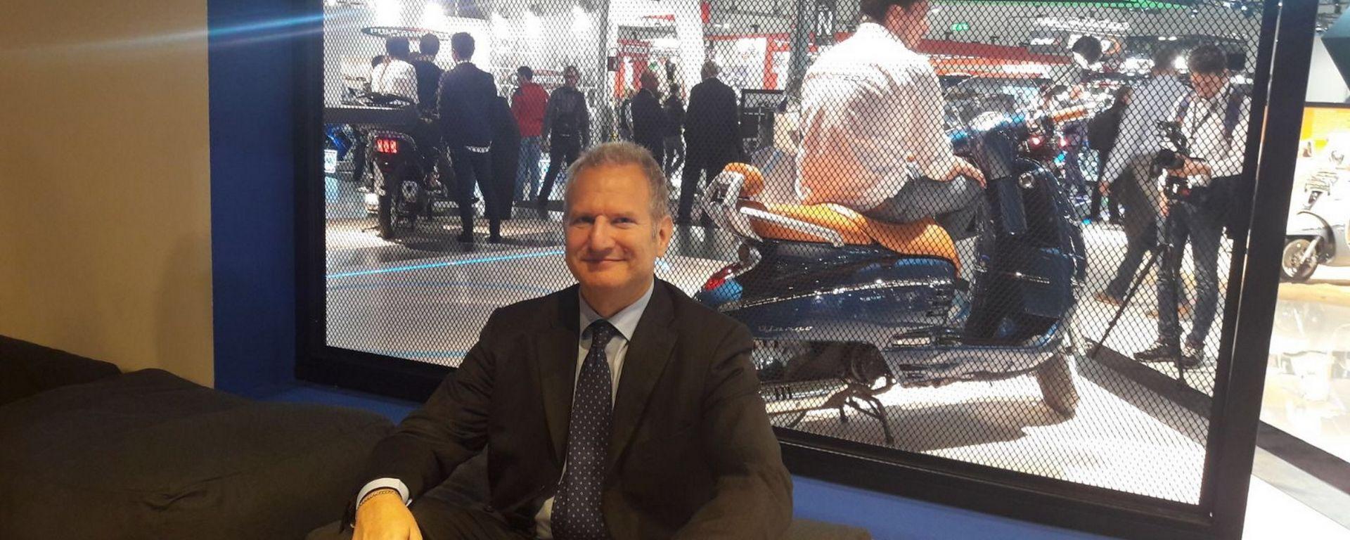 Enrico Pellegrino, Managing Director Peugeot Motorcycles Italia