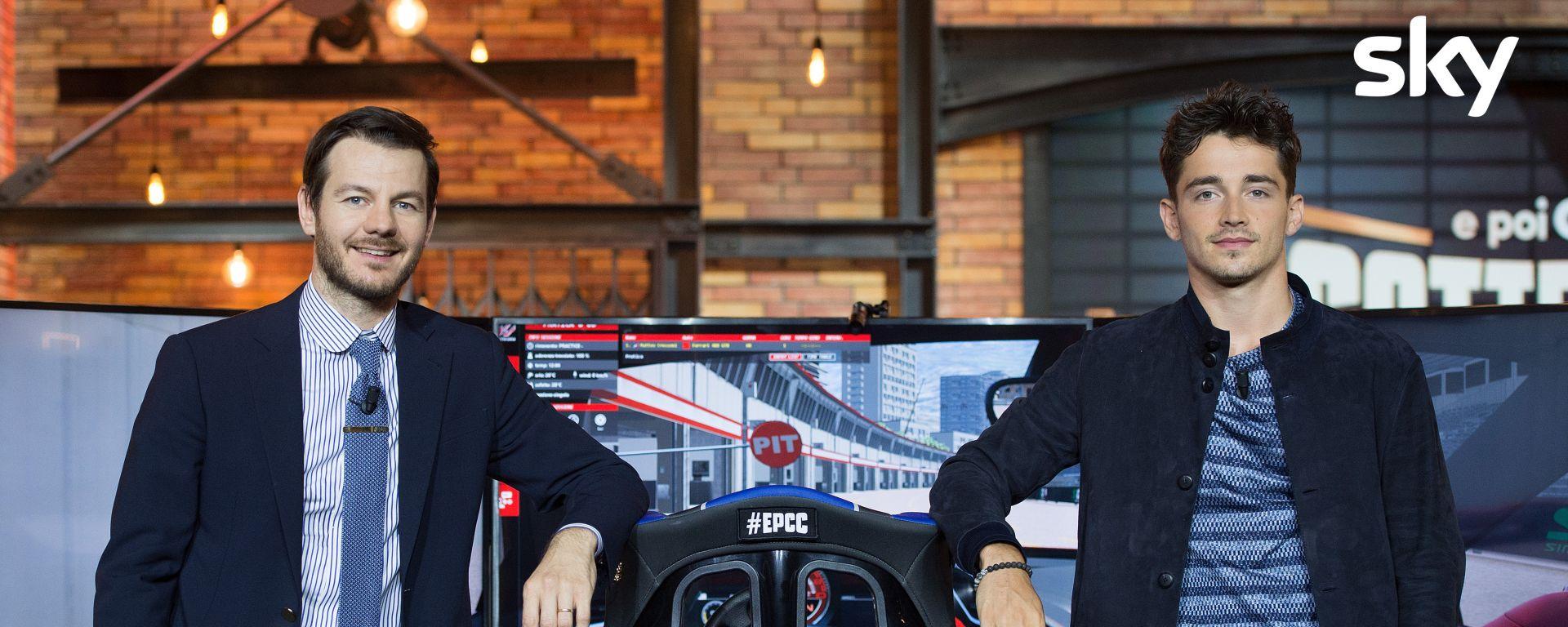 EPCC Leclerc Cattelan, Immagini concesse da Sky; skyuno.it/epcc:Ogni martedì alle 21.15 su Sky Uno sempre disponibile on demand